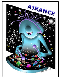 Cover art for Askance #1