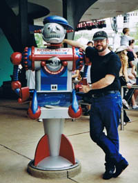 Brad Foster and Robot friend