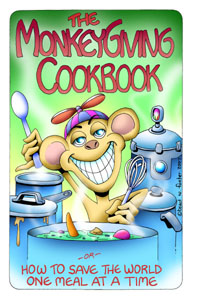 Cover art for The MonkeyGiving Cookbook