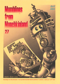 Mumbles From Munchkinland #27